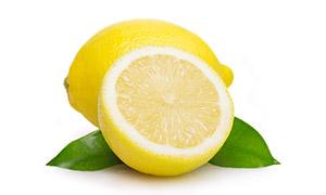绿叶与沁人心脾的柠檬摄影高清图片