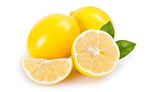 酸甜爽口的黄柠檬特写摄影高清图片