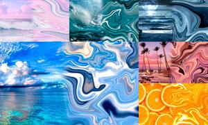 照片转抽象艺术效果PS动作
