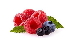 蓝莓与新鲜可口覆盆子摄影 澳门线上必赢赌场