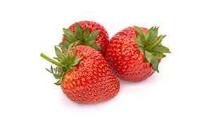 鲜嫩欲滴香甜口感草莓摄影高清图片