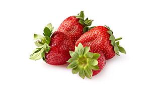 几个香甜诱人草莓特写摄影高清图片