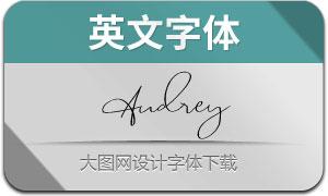Audrey(英文字体)