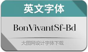 BonVivantSerif-Bold(英文字体)