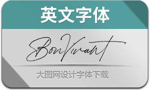 BonVivant-Regular(英文字体)