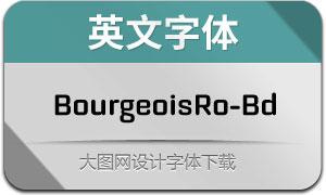 BourgeoisRo-Bd(英文字体)