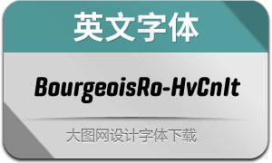 BourgeoisRo-HvCnIt(英文字体)