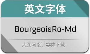 BourgeoisRo-Md(英文字体)