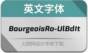 BourgeoisRo-UlBdIt(英文字体)