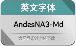 AndesNeueAlt3-Medium(英文字体)