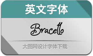 Bracello(英文字体)