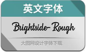 Brightside-Rough(英文字体)