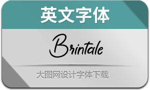 Brintale(英文字体)