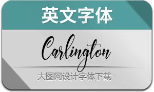 Carlington(英文字体)