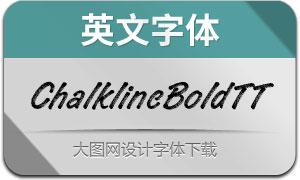 ChalklineBoldTT(英文字体)