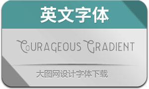 CourageousGradient(英文字体)