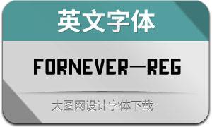 Fornever(英文字体)
