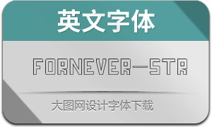 Fornever-Stroke(英文字体)