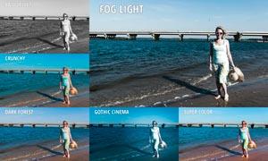 人像海景照片复古艺术效果LR预设V2