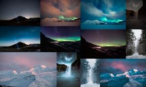 夜景星空照片美化处理LR预设