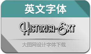 HistoricaExtrude(英文字体)