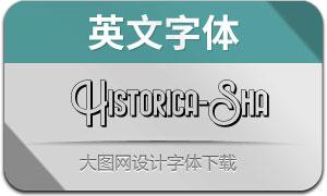 HistoricaShadow(英文字体)
