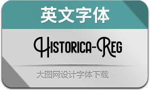 Historica(英文字体)