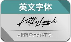 KattyLynch(英文字体)