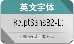 KelptSansB2-Light(英文字体)