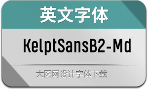 KelptSansB2-Medium(英文字体)