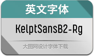 KelptSansB2-Regular(英文字体)