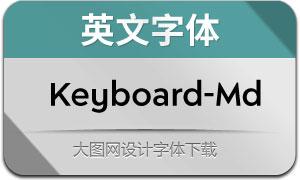 Keyboard-Medium(英文字体)