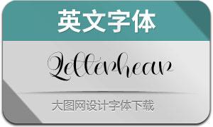 Letterhear(英文字体)