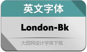 London-Black(英文字体)