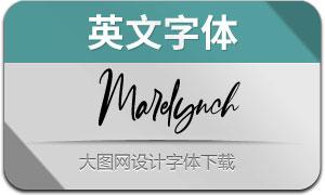 Marelynch(英文字体)