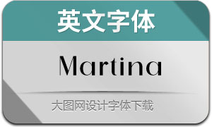 Martina-Regular(英文字体)