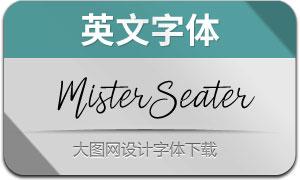 MisterSeater(英文字体)