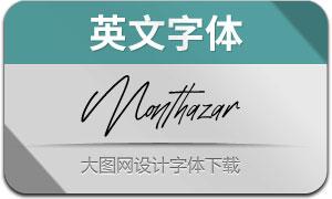 Monthazar(英文字体)