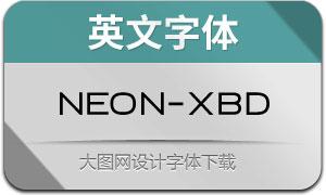 Neon-ExtraBold(英文字体)