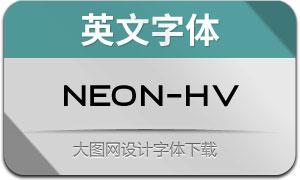Neon-Heavy(英文字体)