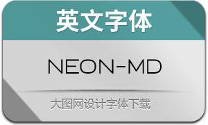 Neon-Medium(英文字体)