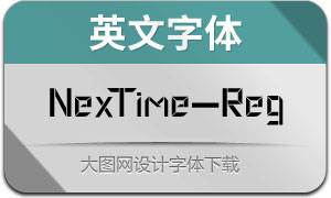 NexTime(英文字体)