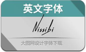 Nissibi(英文字体)