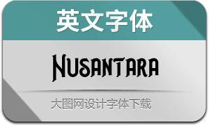 Nusantara(英文字体)