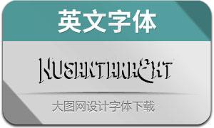 NusantaraExtrude(英文字体)