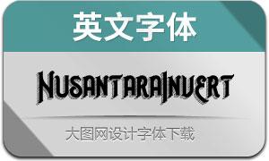 NusantaraInvert(英文字体)