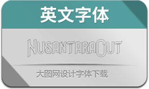 NusantaraOutline(英文字体)