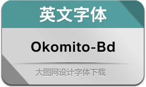 Okomito-Bold(英文字体)