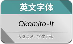 Okomito-Italic(英文字体)