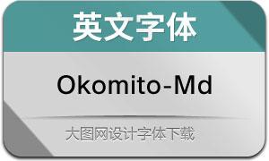 Okomito-Medium(英文字体)